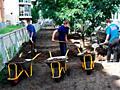 Бельцы! Очистим территории участки Вывоз-вынос мусора бетоновырубка