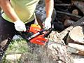 Спилить деревья бензопилой