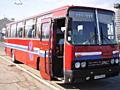 Автобус Ikarus-256 в хорошем состоянии.