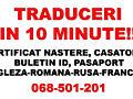 Traduceri in 10 minute!!! Engleza-franceza-rusa-romana