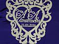 Свадебный декор: семейные гербы, декор для фотосессий