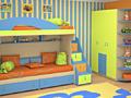 Мебель в детскую комнату на заказ. Качество, гарантия, хорошие скидки.