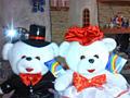 Свадебные нарядные медведи