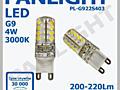 Becuri LED, G9, PANLIGHT, becuri cu LED, Moldova, Chisinau, LED, bec