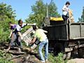 Бельцы Вывоз мусора снос домов Бетоновырубка доставка чернозема глины