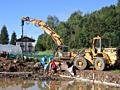 Бельцы. Сносим старые строения дома здания бетоновырубка вывоз мусора.