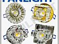 Встраиваемые светильники со светодиодами, точечные светильники LED