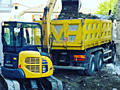 Servicii mini excavator, basculanta Balti