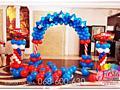 Декор Фотозона Шары с гелием Бельцы Decoratiuni cu baloane heliu Balti
