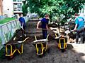 Curatim sectoare vile evacuarea deseurilor de constructie reparatie
