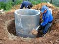 Копаем вручную и спецтехникой канализации траншеи сливные ямы септики!
