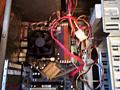 Корпус с блоком питания с приводом DVD-RW и процессором