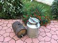 Бочка для вина 20 литров с конусным краником из нержавейки -570 лей