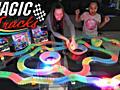 Детская гоночная дорога Magic Track, светится в темноте