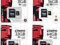 Продам новые карты памяти MicroSD Kingston и Sandisk (10 class)