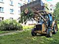 Фронтальный погрузчик,очистка участков доставка чернозёма выкорчевка деревьев, пней.