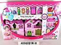 Casuta cu papusi MACACA Doll House (A698891M-W)