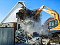 Очистка участков территорий снос домов конструкций подготовка участков