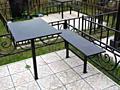 Скамья 200 руб стол 250 руб и побольше размером 300 руб Покрашено в чё