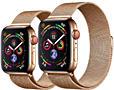 СМАРТ ЧАСЫ Apple Watch 1БРАСЛЕТ МИЛАНСКАЯ ПЕТЛЯ ЗОЛОТО ✅ ЗАРЯДКА ✅ 1500