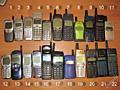 Мобильные телефоны 90-х годов на коллекции, запчасти и восстановление