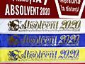 Panglici pentru absolventi 2020, лента выпускник, adio gradinita, insi