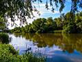 Участок у реки г. Беляевка
