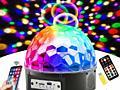 Диско шар, прожектор, свето-музыка, блютуз колонка, светодиодный шар.