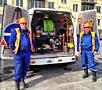 Чистка канализации - Desfundarea canalizarii