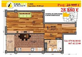"""Prinde OFERTA de la """"Casa-Mea"""" Decebal 99! Prima Rata 30%"""
