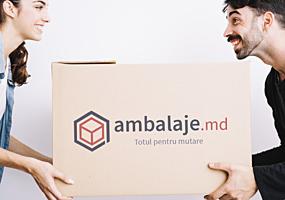 Картонные коробки, коробки для переезда. Cutii din carton AMBALAJE. MD